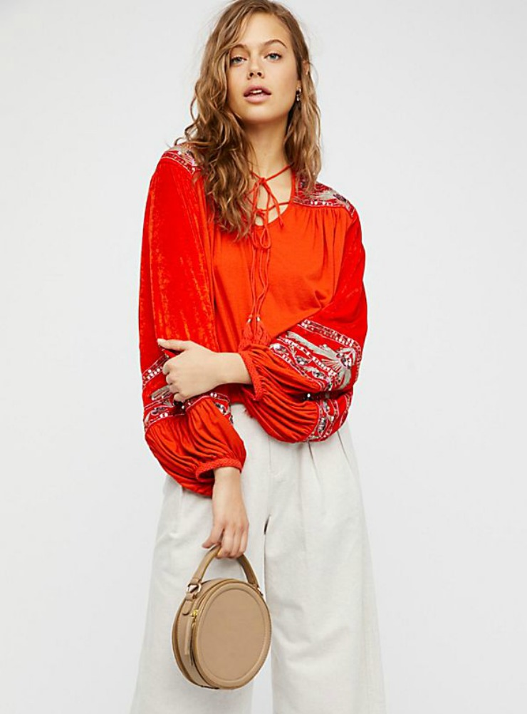 Free People Heart Aflame Top